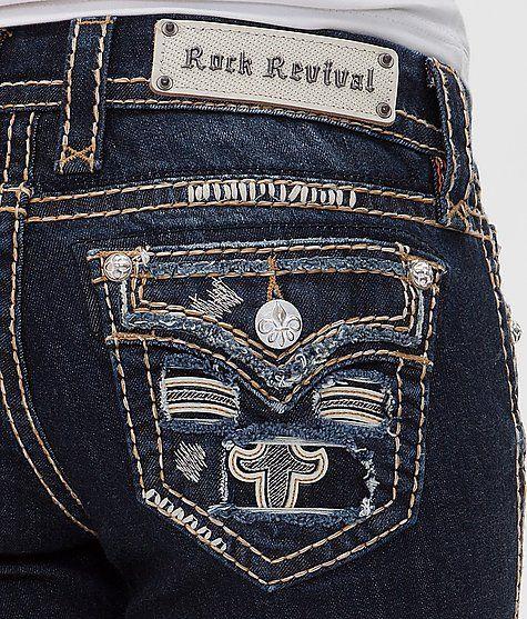 Rock Revival Karla Straight Stretch Jean - Women's Jeans | Buckle