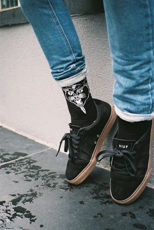 shoes + socks.