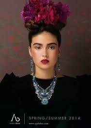 frisur frida kahlo - Google-Suche