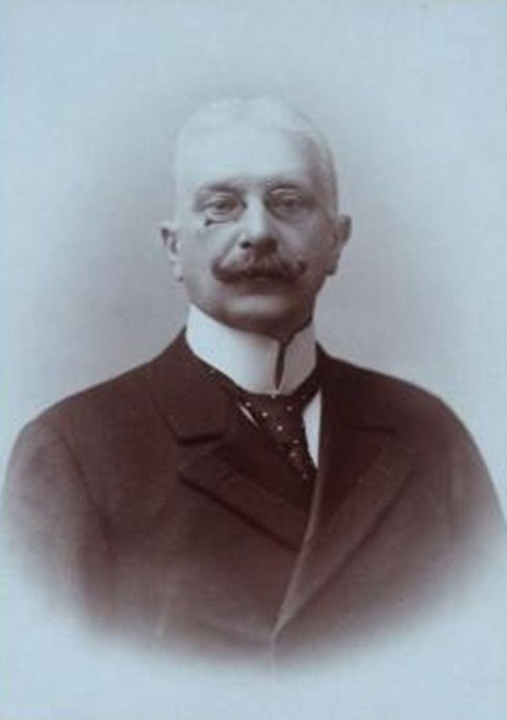"""Del mismo nombre de la nave """"Baron Gautsch"""" Carinthian Baron Paul Gautsch v. Franken Thurn, finales del siglo 19, el primer ministro de Educación,"""