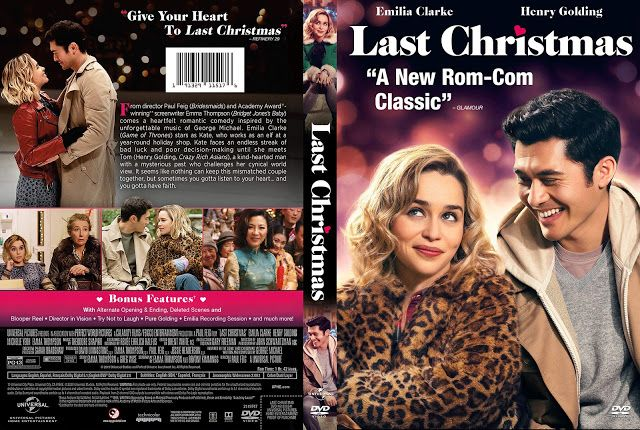 Last Christmas Dvd Cover In 2020 Christmas Dvd Dvd Covers Last