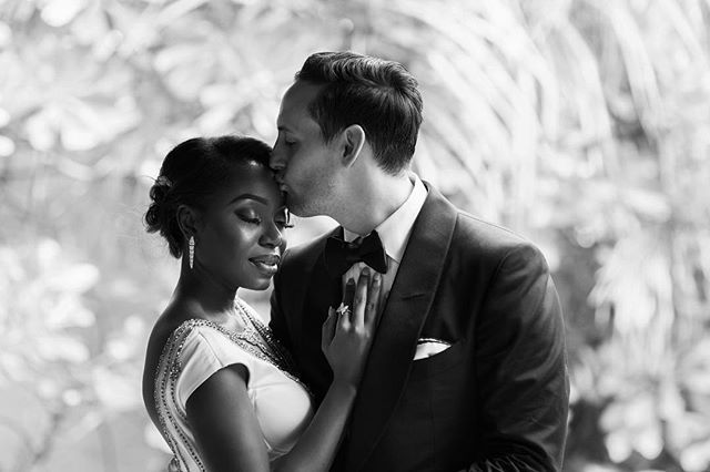 Amazing black and white interracial couple wedding photography #love #wmbw #bwwm