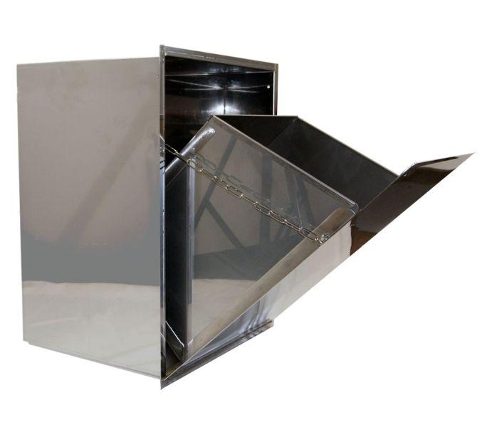 Inbouw afvalbak met uitneembare binnenbak