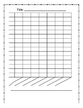 Students can use this template to help them create bar graphs!