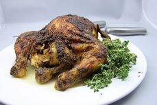 Pecene kure s indickym korenim /Roasted chicken with Indian spices/ Zdravé, nízkosacharidové, bezlepkové recepty. (Healthy, low carb, gluten free recipes.)
