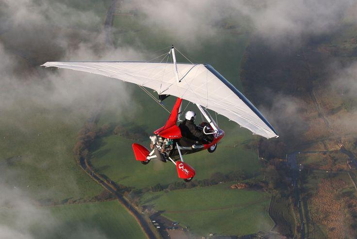P & M Quik flexwing microlight #aviation #aircraft #microlight #ultralight #flexwing #single #piston #rotax #uk