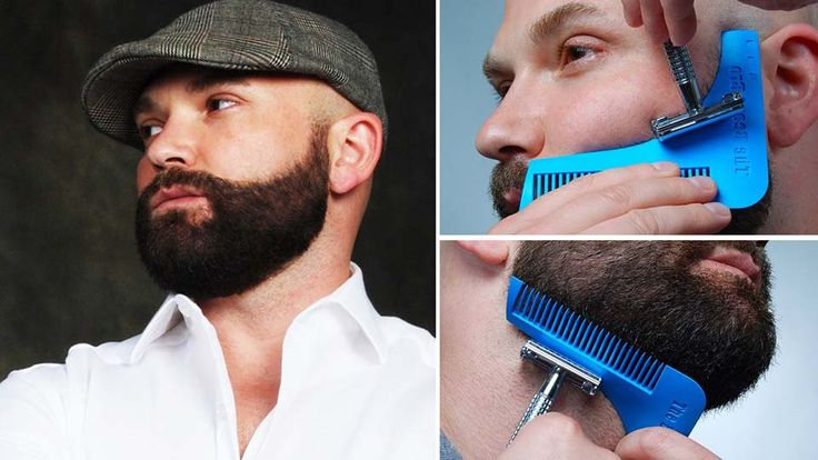 The Beard Bro Beard Shaping Tool for Perfect Shape #men #accessories #gadgets #gifts #useful