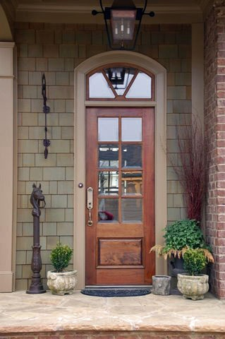 50 best images about doors on pinterest for Wood back door with window