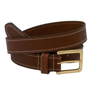 Savile Row Brown Leather Belt A smart leather belt in rich, smooth brown leather with contrast stitching and rectangular yellow metal buckle. Crafted from 100% leather, and perfect with all your formal, semi-formal and casual trou http://www.comparestoreprices.co.uk/mens-clothing-accessories/savile-row-brown-leather-belt.asp