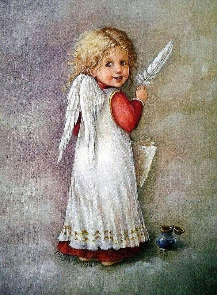 Домашние птицы, открытки с днем ангела ретро