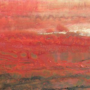 """Gemsbok Fire 04"" by Melanie Meyer from her Emergence Art Gallery in Cape Town"