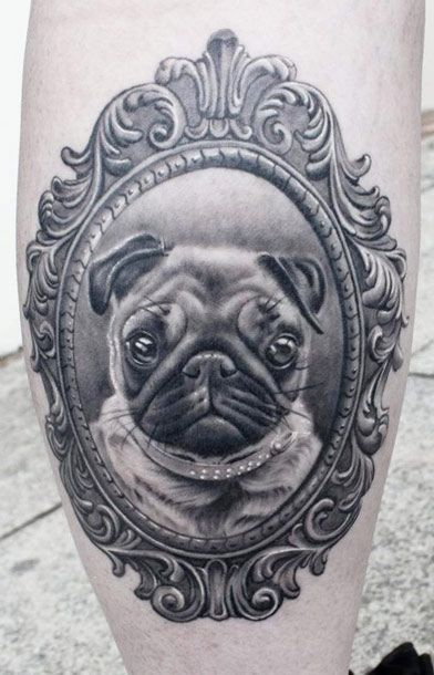 I would love to do this with both Rio and Whiskey!! Top 10 Dog Portraits | Inked Magazine