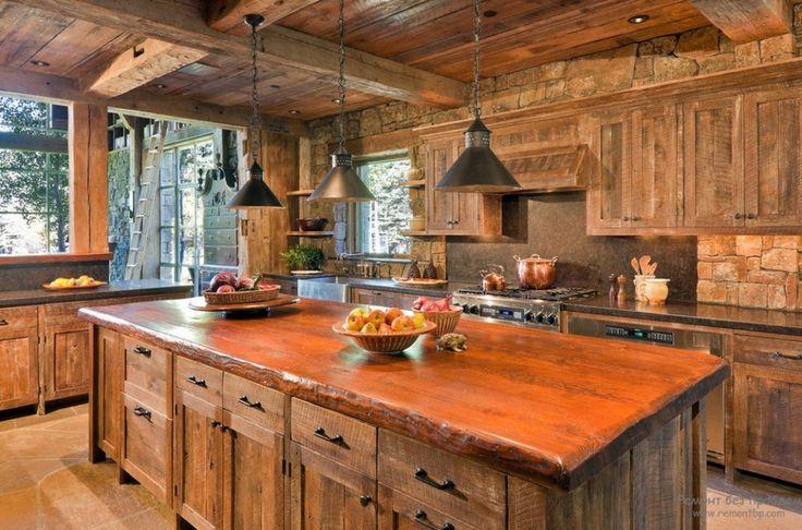Интерьер кухни в стиле кантри или как оформить дизайн в сельском стиле