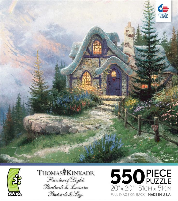 kinkade sweetheart cottage iii puzzle 53 best