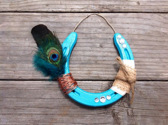 193 best images about horseshoe crafts on Pinterest