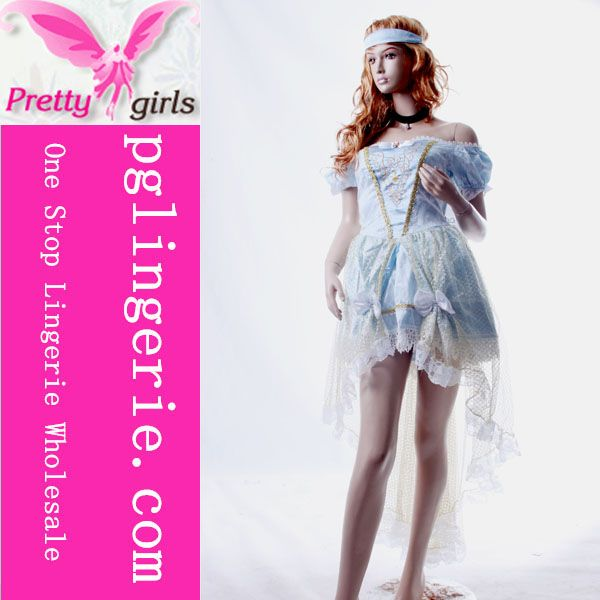 Fancy cosplay princess costume sexy adult cosplay costume dress
