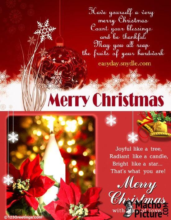 Christmas greetings wishes - 3 PHOTO!