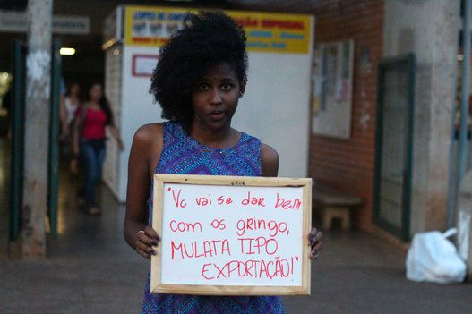 'É como andar em um campo minado', diz estudante que criou campanha contra o racismo na UnB (FOTOS)