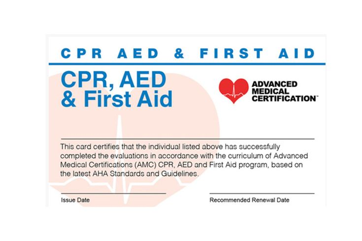 CPR Certification Online with FirstAid, CPR, and AED