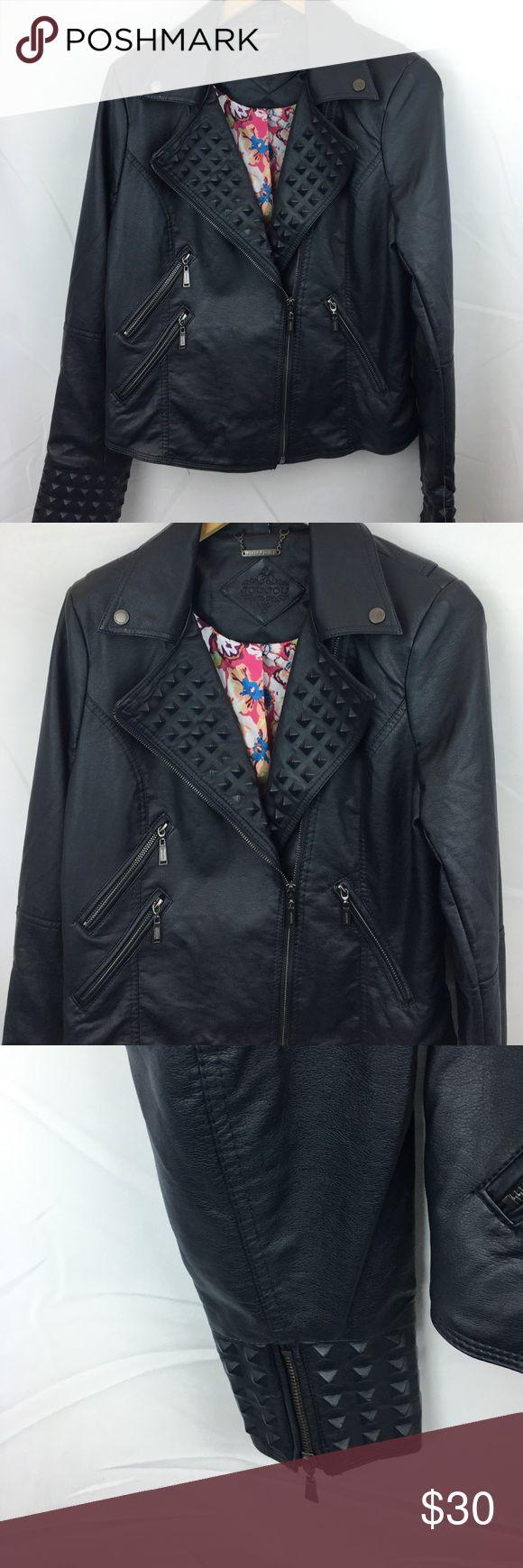 Joujou  biker jacket for ladies Joujou biker jacket for ladies size  L joujou Jackets & Coats