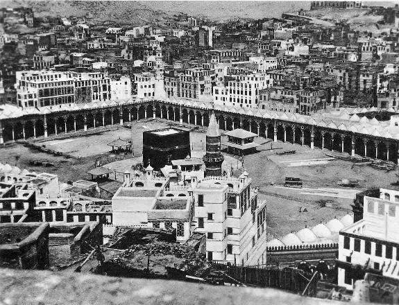 Aerial view of the Haram area