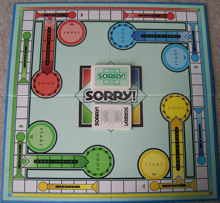 Family Game Night Ideas: Sorry You're Sorry I'm Sorry