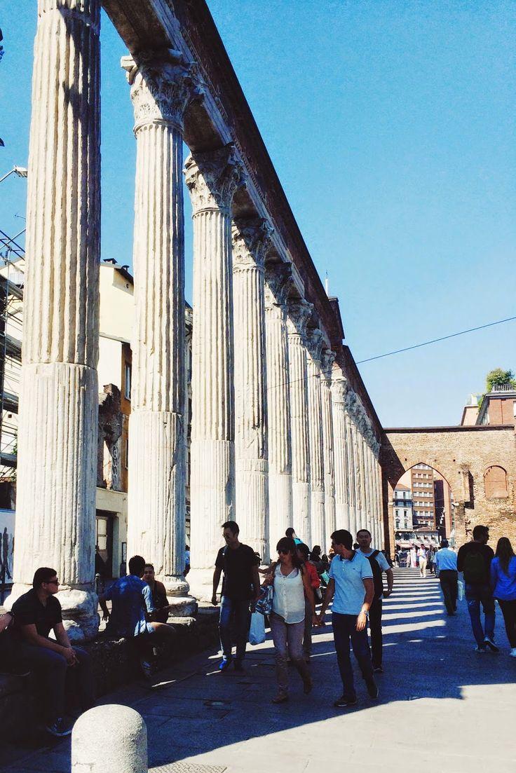 Le colonne di San Lorenzo, Milano, Italy