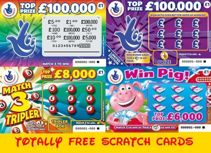 ScratchCards For Free in the UK check us out http://ScratchWithUs.co.uk