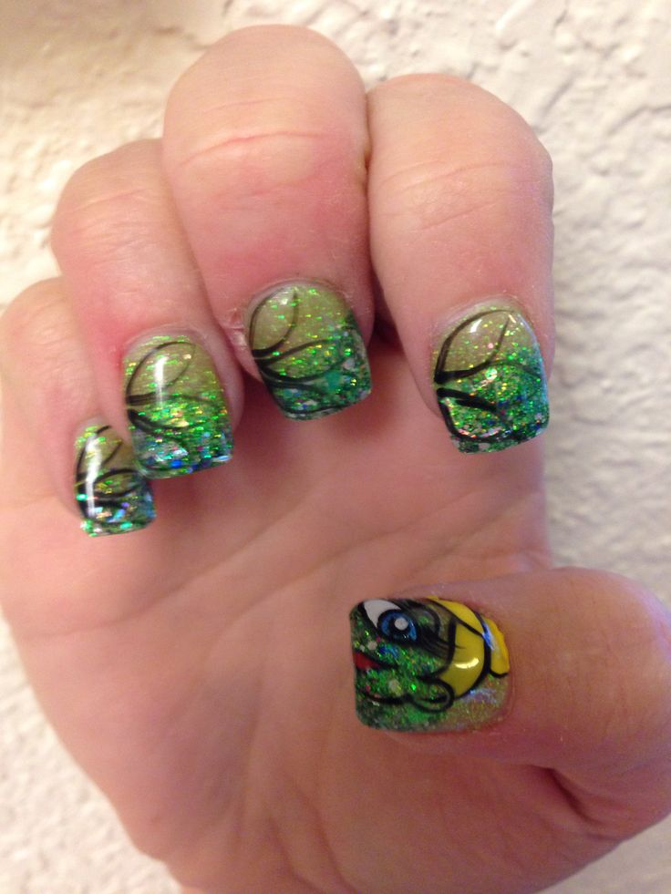 116 best tinkerbell images on pinterest peter pan nails nail tinkerbell nails prinsesfo Gallery