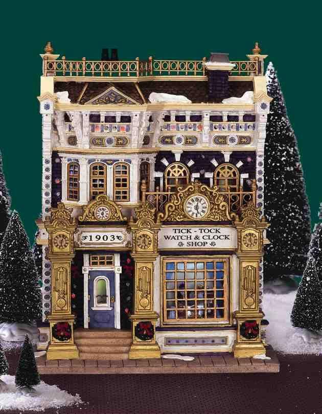 159 Best Ceramic Christmas Villages Images On Pinterest