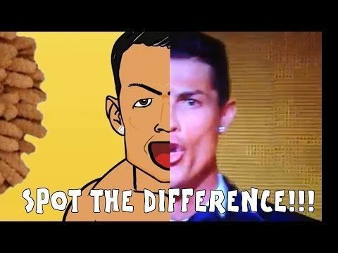 Cristiano Ronaldo podobny do postaci z kreskówki • Zabawne fotki w piłce nożnej • Znajdź różnicę na śmiesznym zdjęciu • Zobacz >>