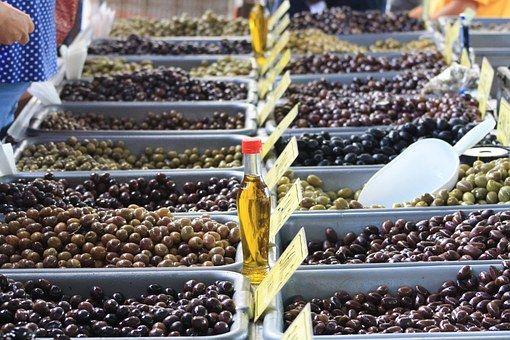 Olivový, Řečtina, Prodejce, Trh