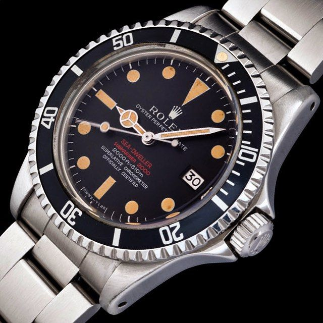 For sale from @jatucka is this @rolex Seadweller Ref 1665 MK2. See all our trusted offers on www.RolexPassionMarket.com