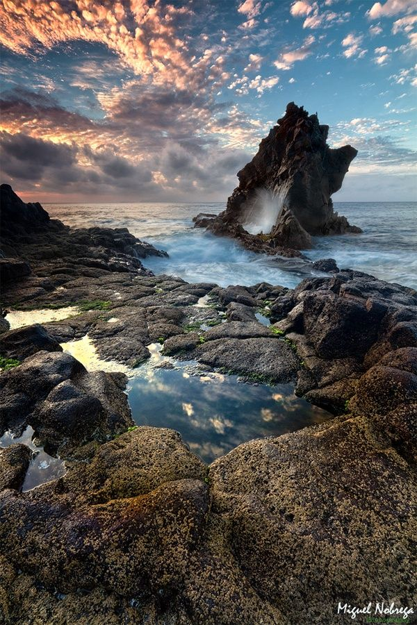 St Cruz, Madeira Island (belongs to Portugal and is located north of the Canary Islands)
