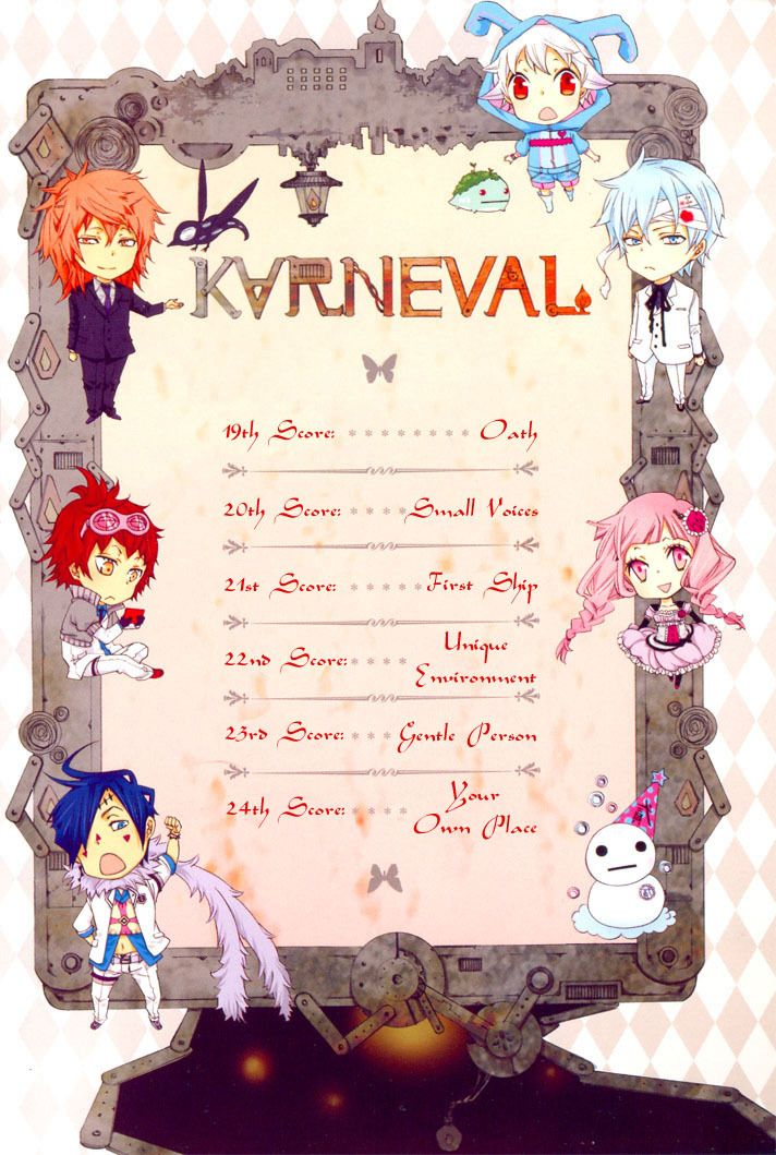 Karneval Manga - Cute Chibi Design Charaters