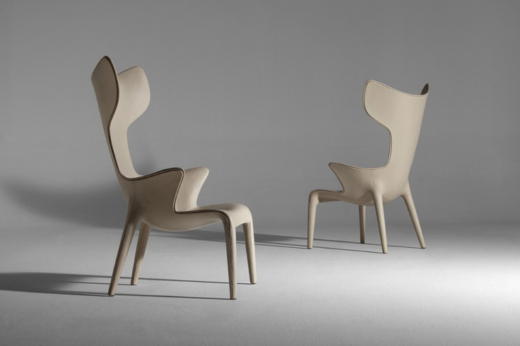 Lou read - Armchair by Philippe Starck