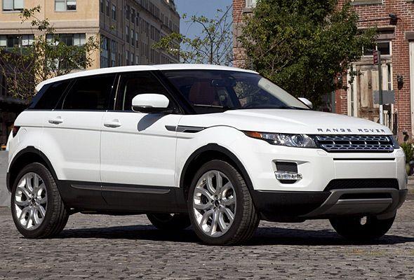 White Range Rover Evoque ♡