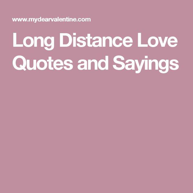 Best 25+ Long Distance Love Ideas On Pinterest