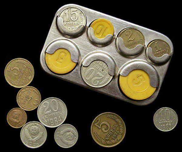 Сортировщик монет из СССР