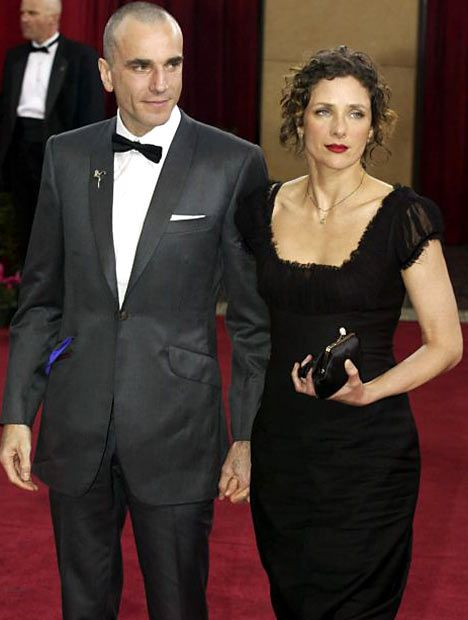 Daniel Day Lewis and wife Rebecca Miller - He's my fav actor... Beautiful couple!