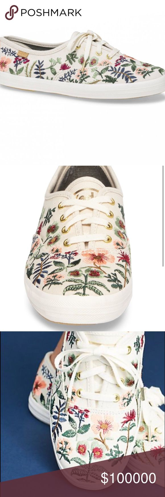 ISO x Rifle Paper Co. Herb Garden Keds Looking for Keds x Rifle Paper Co. Herb Garden Embroidered Sneakers. Either in a size 7 or 6 1/2. Keds Shoes Sneakers
