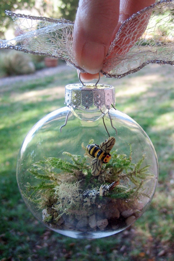Items similar to Terrarium in Glass Ornament on Etsy - 29 Best Terrarium Love!!! Images On Pinterest Terrariums