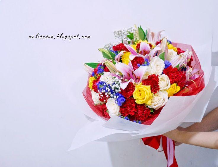 Gorgeous Flower Bouquet by MadameFlorist #graduation #flowerbouquet #floristjakarta #flowerdelivery