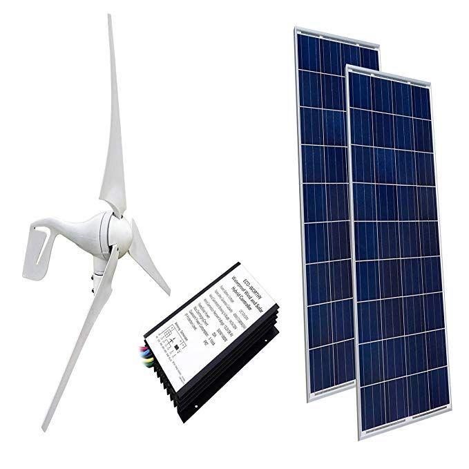 Amazon Com Eco Worthy 24 Volts 600 Watts Wind Solar Power 1pc 12v 24v 400 Watt Wind Turbine Generator Solar Panel Cost Wind Turbine Generator Wind Turbine