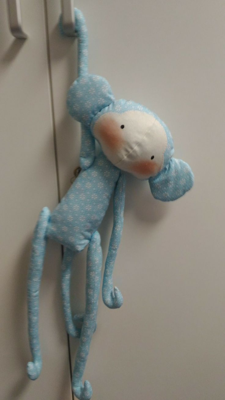 Modrá opička