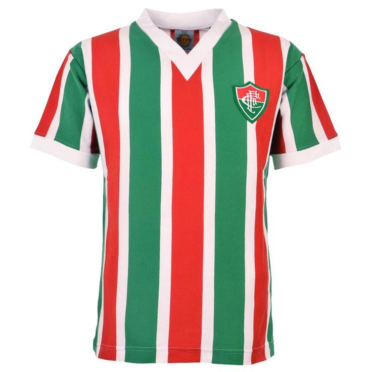 Show details for Fluminense 1968-73 Retro Football Shirt