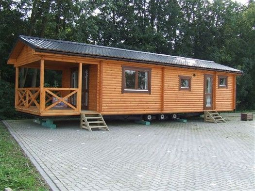 M s de 25 ideas incre bles sobre porche casa m vil en - Casas moviles madera ...