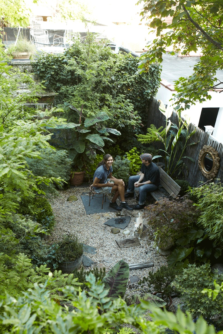 WILDER QUARTERLY : Director Jonathan Caouette and garden designer David Sanin Paz