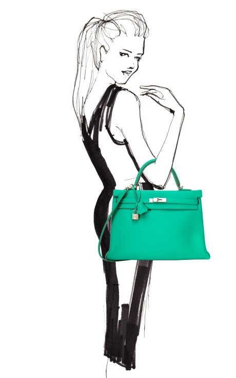 Hermes Kelly - love the color