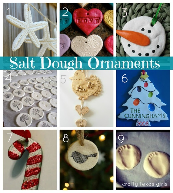 Crafty How-To: Salt Dough Ornaments